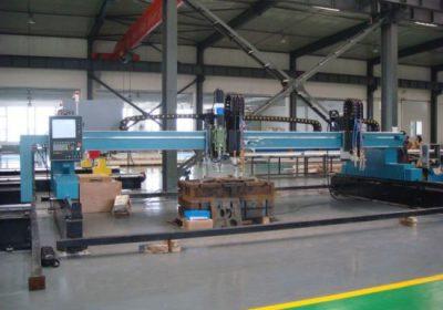 CNC portalni plazma plamenski stroj za rezanje pločevine za železno kovino