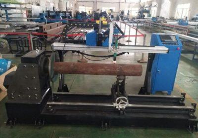 CNC Gantry Plasma Plamen stroj za rezanje s Panasonic servo motorjem