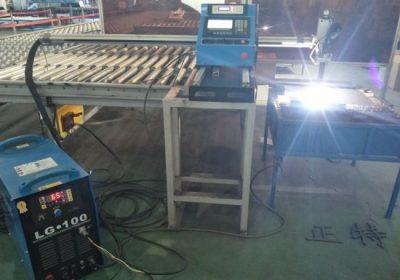 Samodejni vratni tip CNC plazemski rezalni stroj / rezalnik plazemnih pločevin