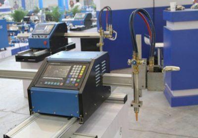 Stroj za rezanje CNC in pločevinasto kovinsko cevno pločevino s plazemskim rezanjem in gorilnikom za oljno gorivo