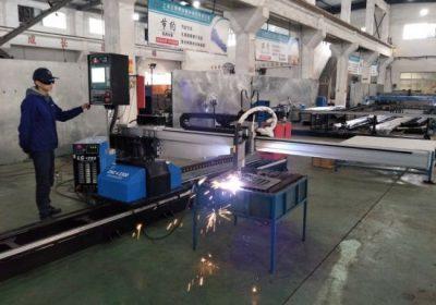 CNC prenosni plazma plamensko rezanje stroj iz Kitajske s tovarniško ceno