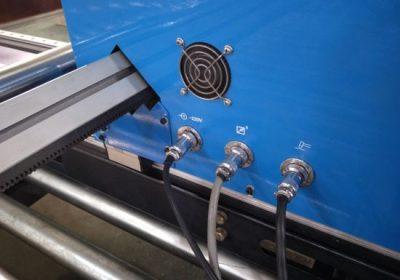 Gantry Type CNC plazemski rezalni stroj, stroj za rezanje pločevine iz jeklene pločevine
