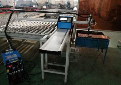 CNC prenosni stroj za rezanje plazme / plamena za rezanje aluminija